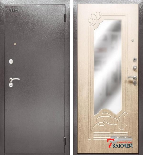 Дверь Аргус ДА-8 с зеркалом