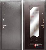 Дверь Аргус ДА-6 с зеркалом