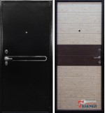 Дверь Арма ЭКОНОМ, беленый дуб
