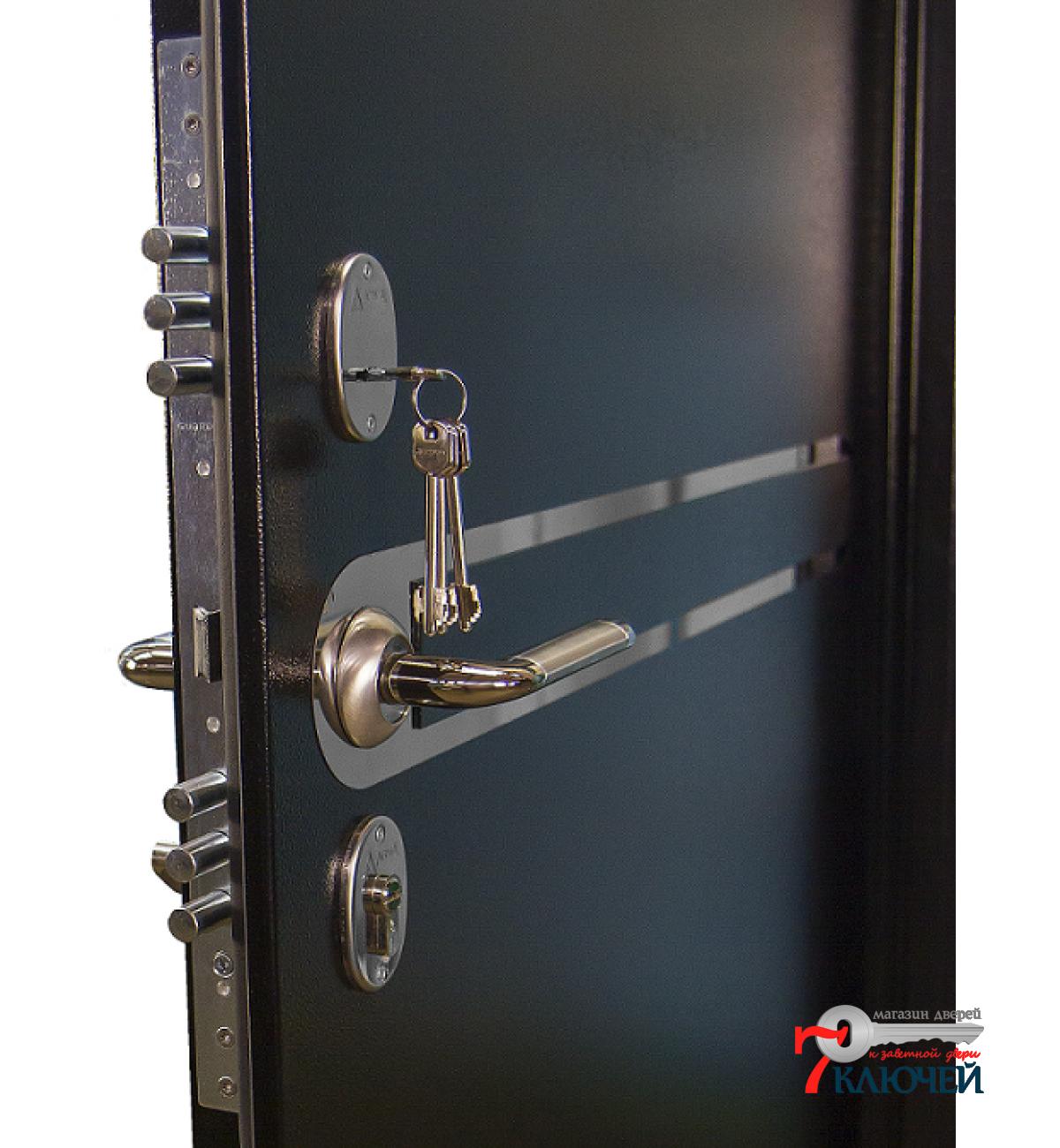 железная дверь установка цена