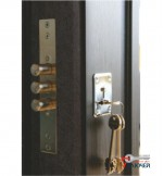 Дверь Арма СТАНДАРТ 2 с зеркалом, венге
