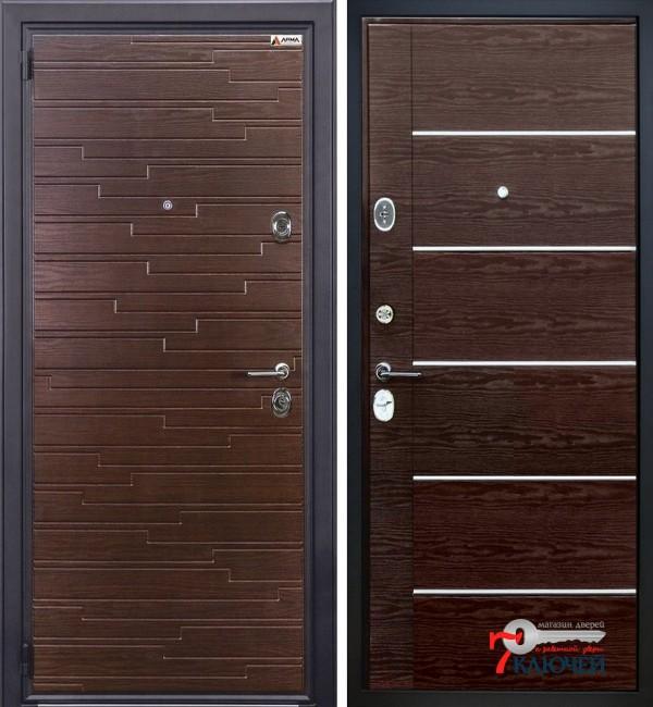 Дверь Арма СТОУН, венге