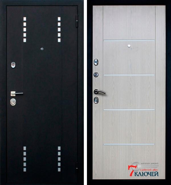 Дверь АСД Агата 1, беленый дуб
