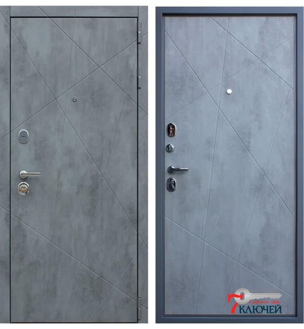 Дверь БЕТОН, бетон светлый