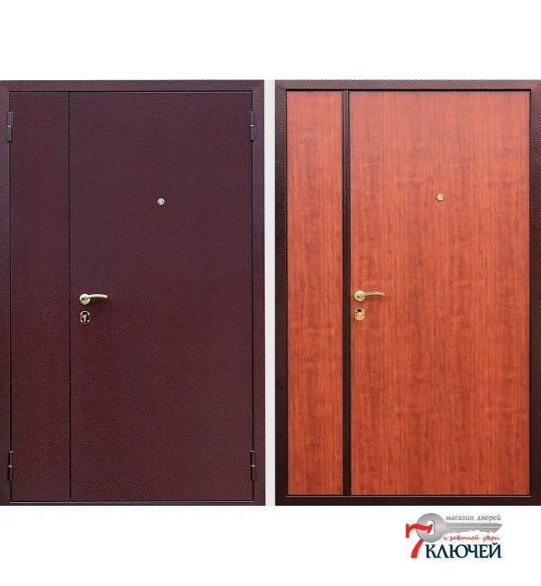 Дверь ДВУХСТВОРЧАТАЯ, итальянский орех