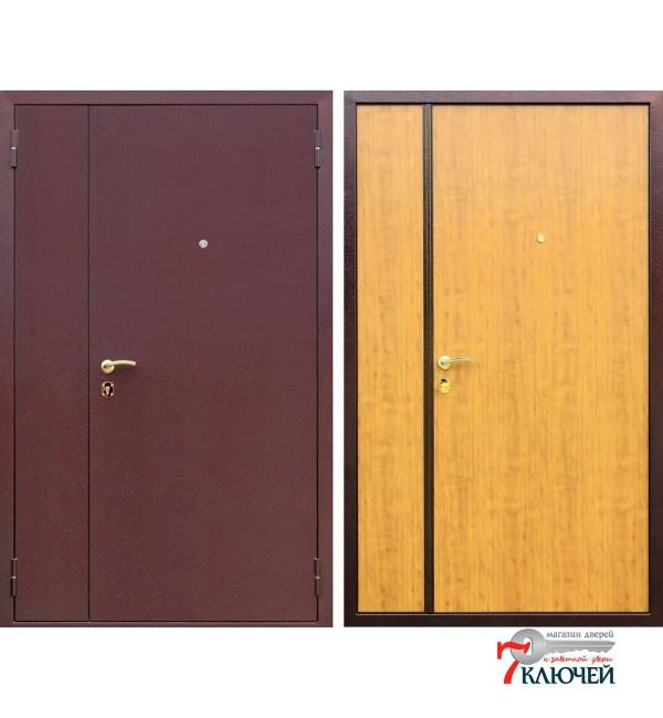 Дверь АСД Двухстворчатая, миланский орех