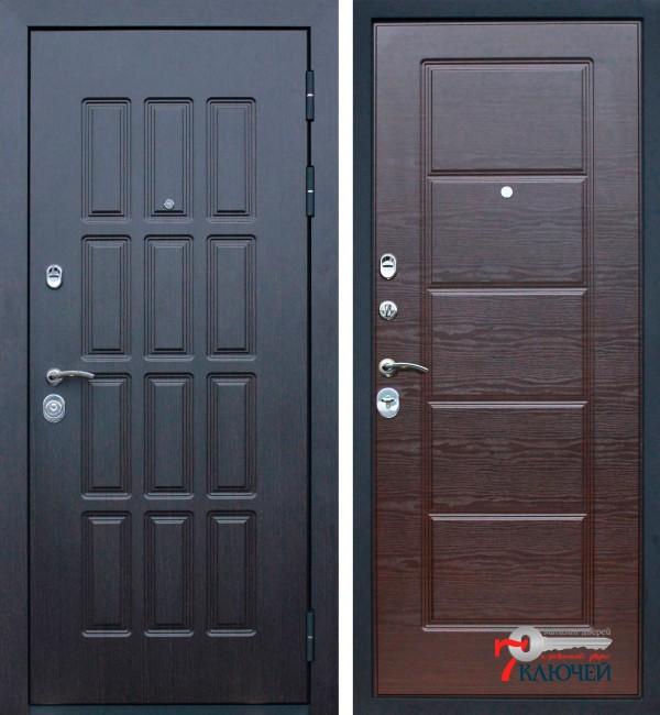 Дверь АСД Фортуна, венге