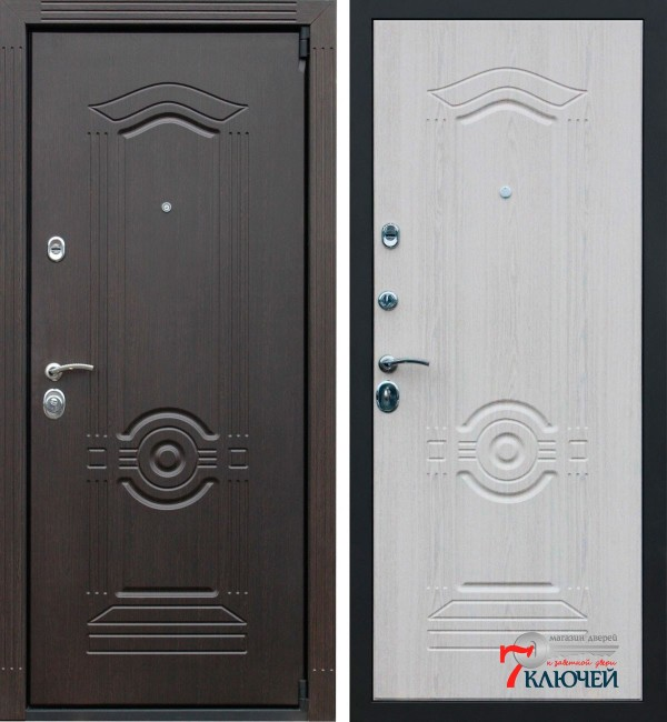 Дверь АСД Гермес OLD, беленый дуб