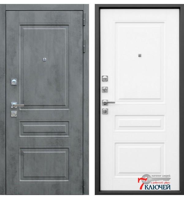 Дверь ЛИРА, белый матовый