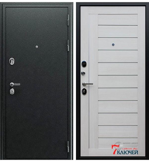 Дверь СОЛО, белая лиственница