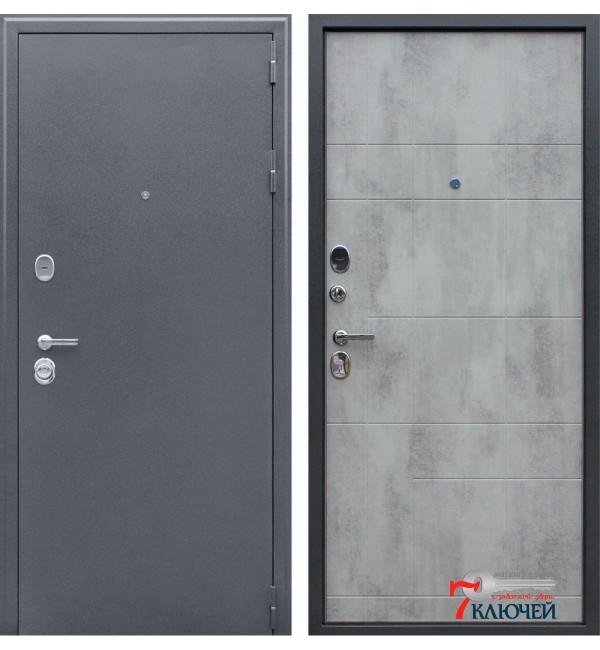 Дверь СПАРТАК-Б, бетон светлый