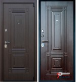 Дверь ВИКИНГ, венге