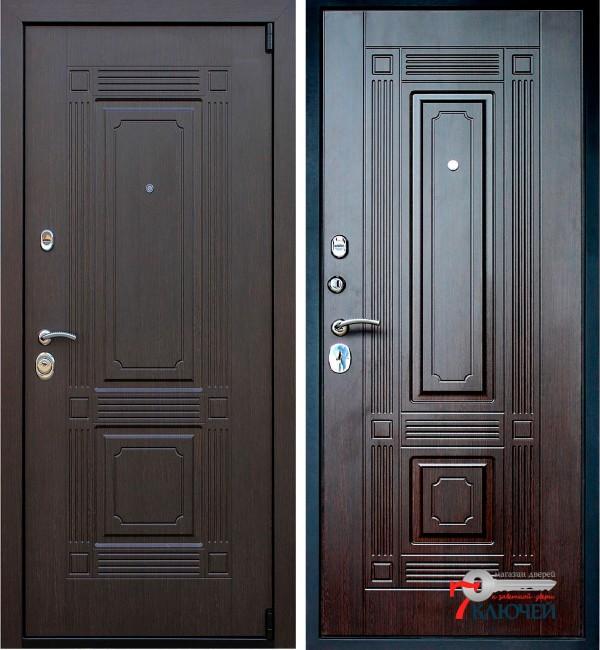 Дверь АСД Викинг, венге