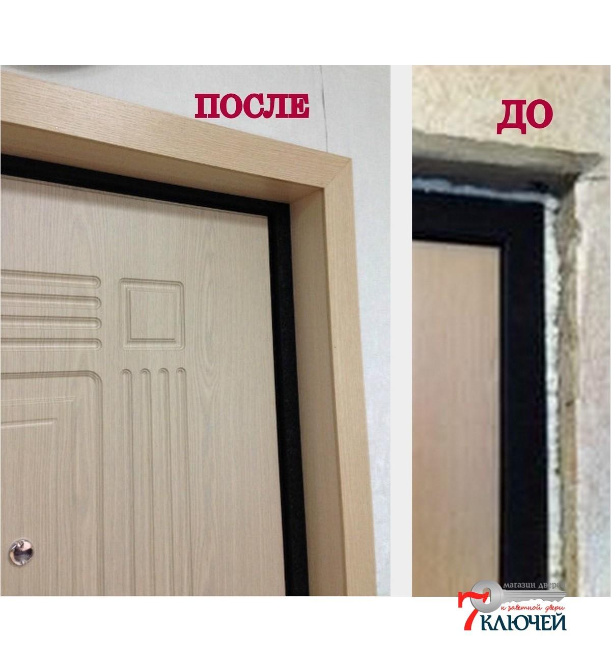 Как установить межкомнатную дверь 24