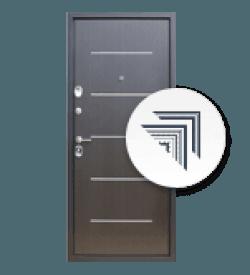 Входные двери с молдингами