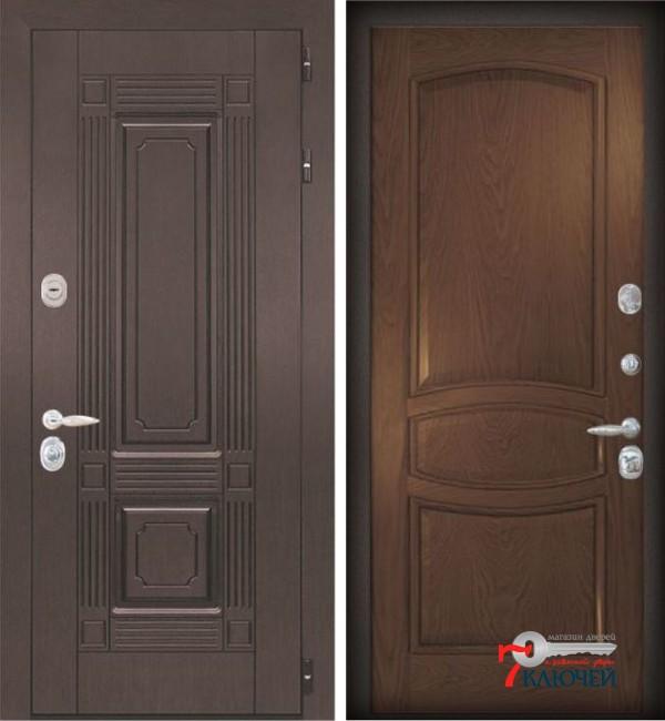 Дверь ИТАЛИЯ 1, шпон бургундский дуб