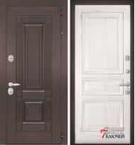 Дверь ИТАЛИЯ 4, шпон ясень жемчуг