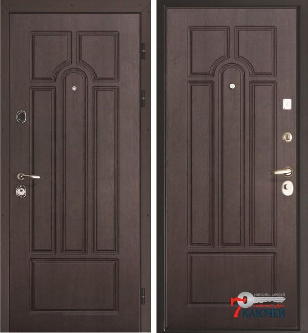 Дверь Интекрон АФИНА, венге