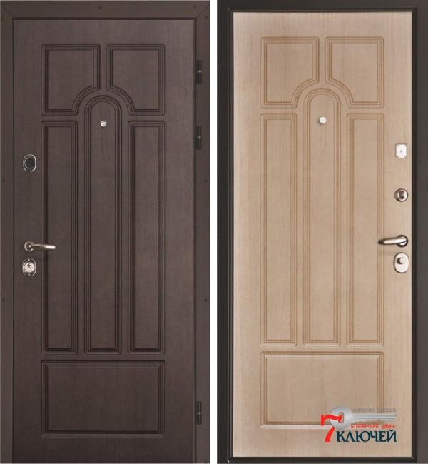 Дверь Интекрон АФИНА, беленый дуб