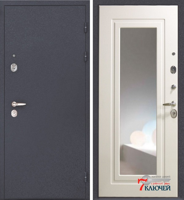 Дверь Интекрон ЭЛЛАДА с зеркалом