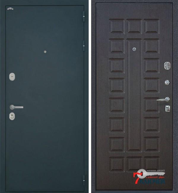 Дверь Интекрон КОЛИЗЕЙ, шелк/ венге