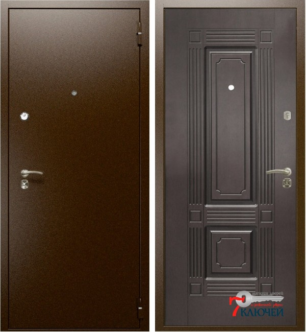 Дверь Интекрон ОПТИМА, венге