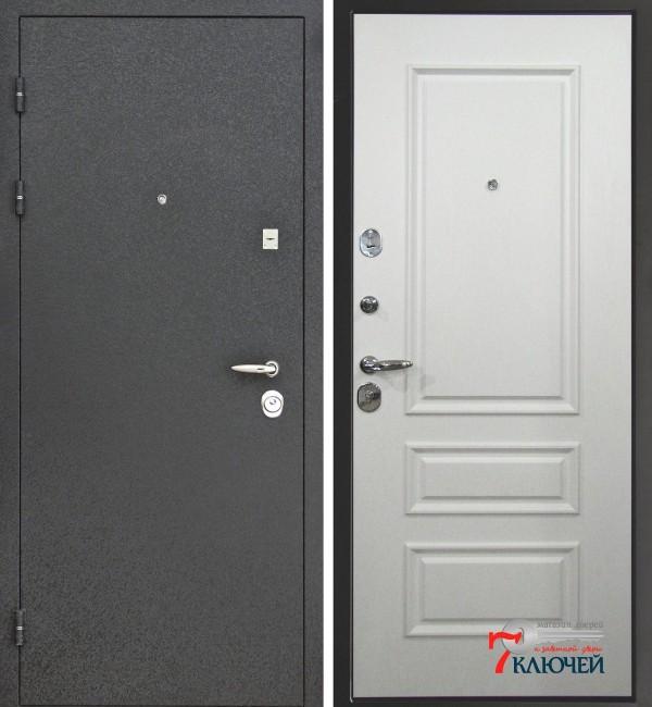 Дверь Интекрон ПЕРСЕЙ, белый ясень
