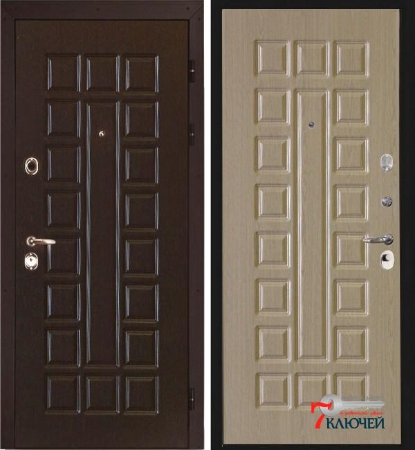 Дверь Интекрон СЕНАТОР, беленый дуб