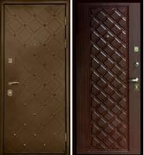 Дверь Интекрон СУНДУК, махагон