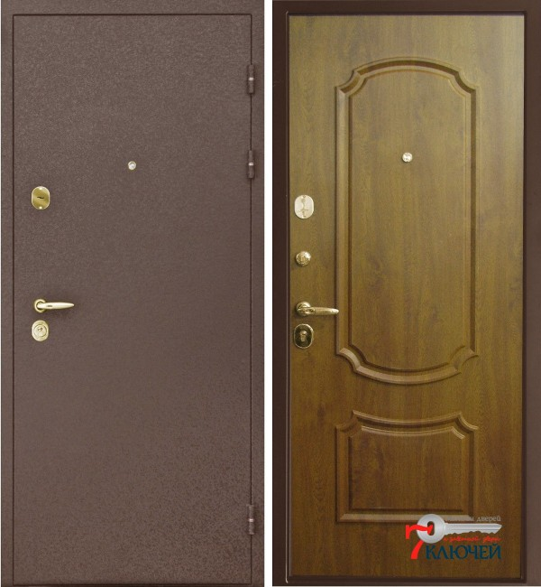 Дверь Интекрон ТЕЗЕЙ, голден