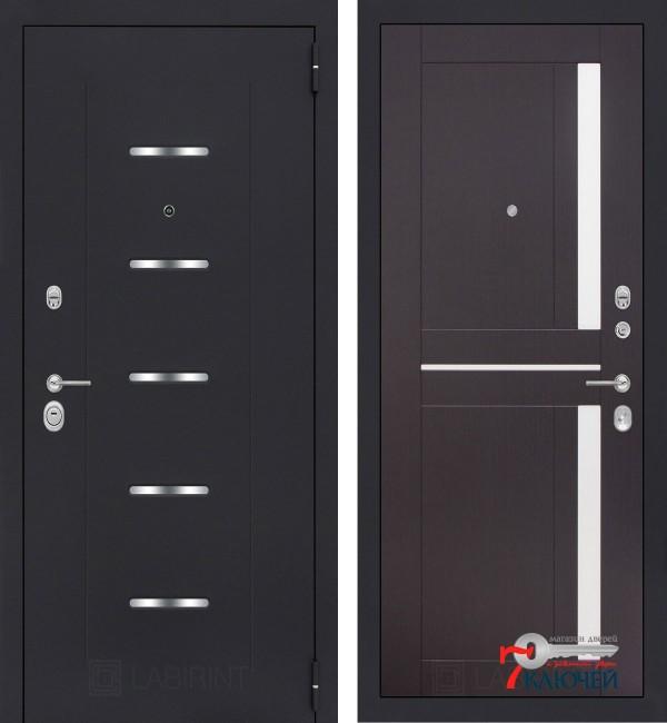 Дверь Лабиринт ALFA 02, венге