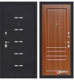 Дверь Лабиринт ALFA 03, орех бренди