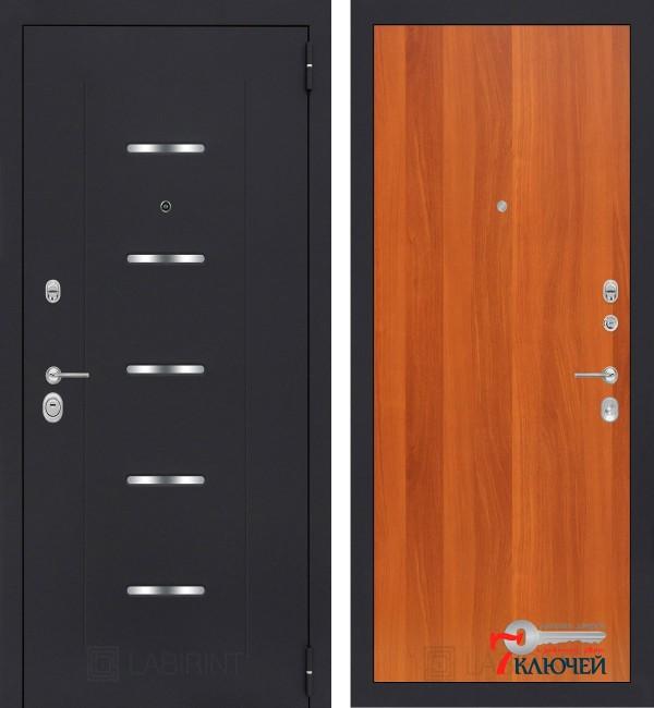 Дверь Лабиринт ALFA 05, итальянский орех