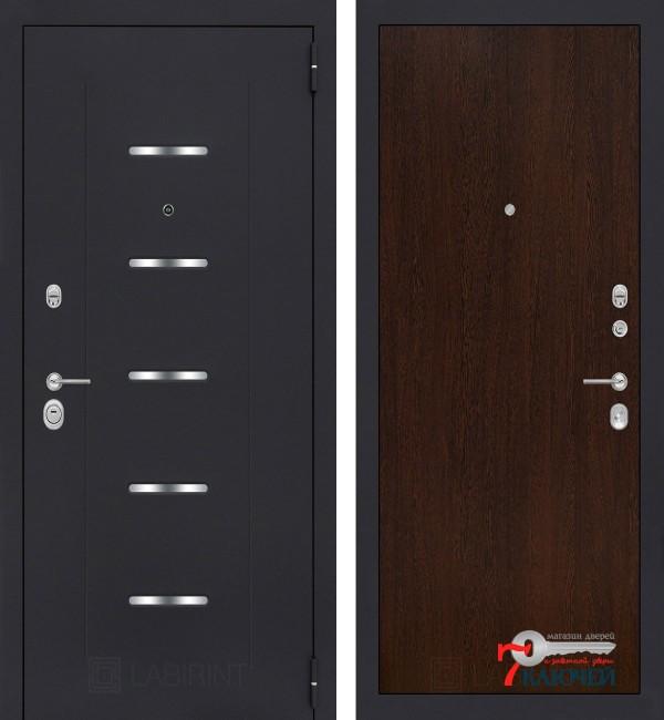 Дверь Лабиринт ALFA 05, венге