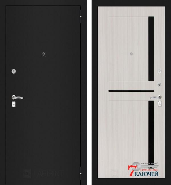 Дверь Лабиринт CLASSIC-1 02, сандал белый