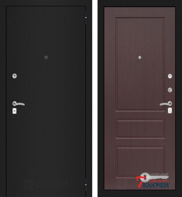 Дверь Лабиринт CLASSIC-1 03, орех премиум