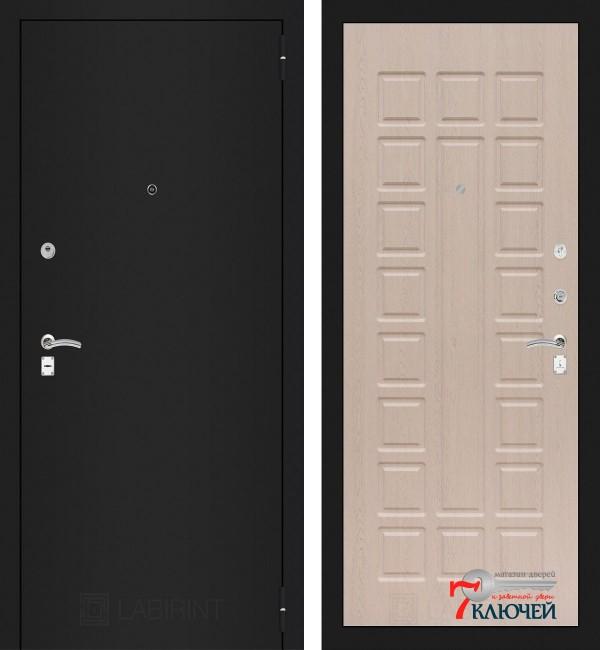 Дверь Лабиринт CLASSIC-1 04, беленый дуб