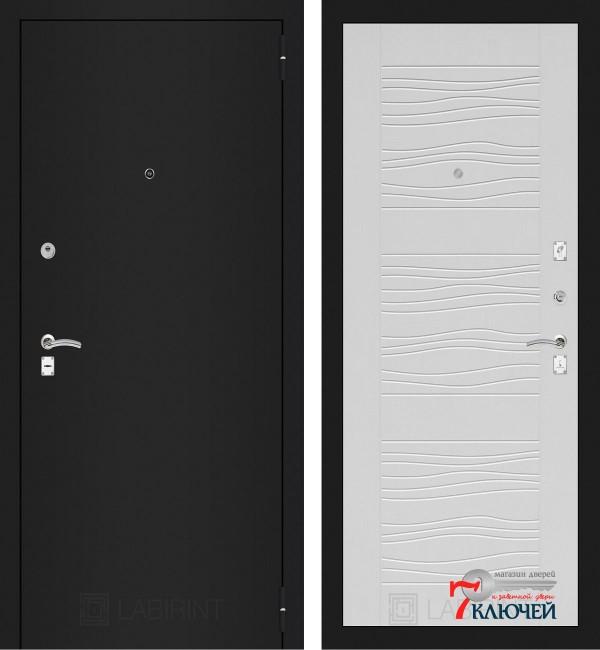 Дверь Лабиринт CLASSIC-1 06, белое дерево