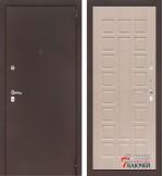 Дверь Лабиринт CLASSIC-2 04, беленый дуб