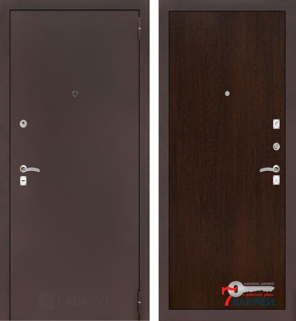 Дверь Лабиринт CLASSIC-2 05, венге