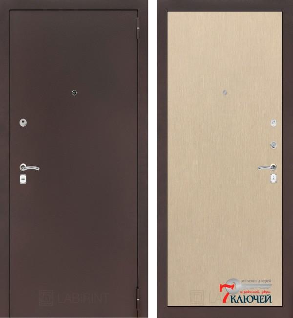 Дверь Лабиринт CLASSIC-2 05, светлый венге