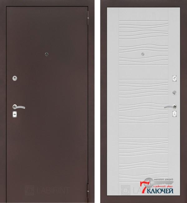 Дверь Лабиринт CLASSIC-2 06, белое дерево