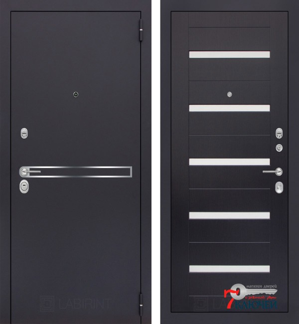Дверь Лабиринт LINE 01, венге