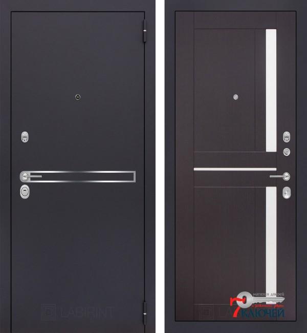 Дверь Лабиринт LINE 02, венге
