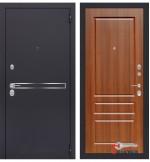 Дверь Лабиринт LINE 03, орех бренди
