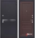 Дверь Лабиринт LINE 03, орех премиум