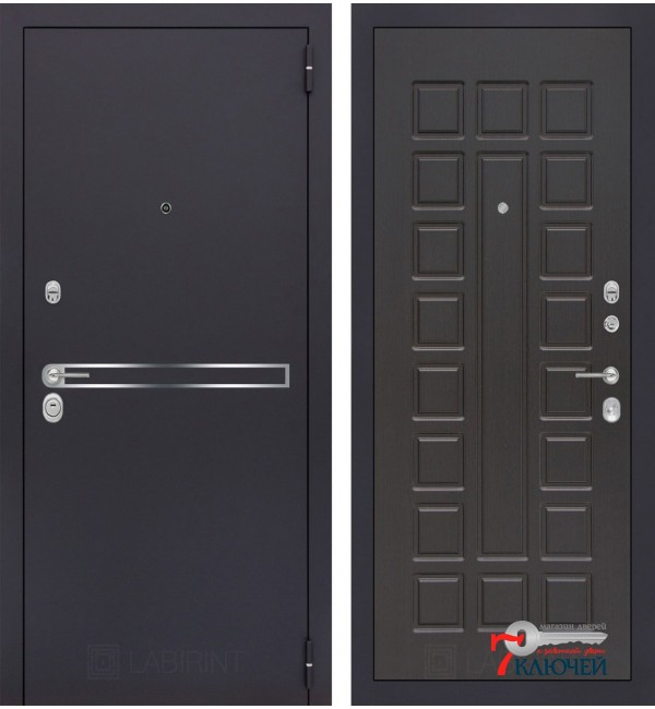 Дверь Лабиринт LINE 04, венге