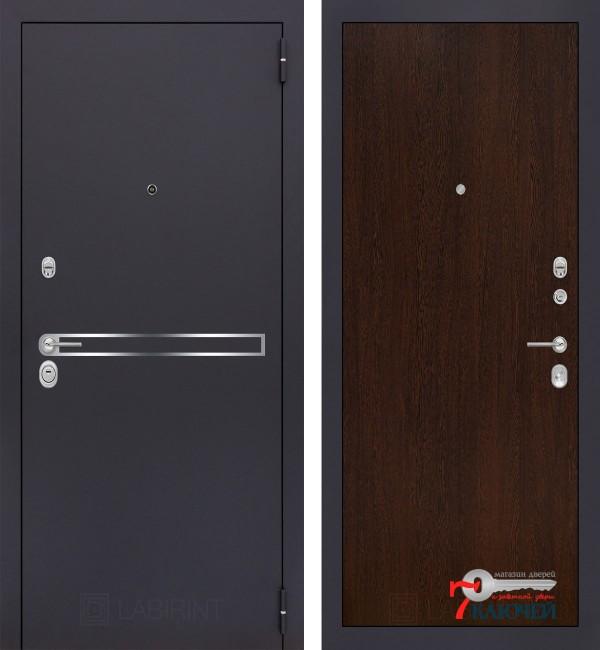 Дверь Лабиринт LINE 05, венге