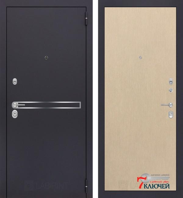 Дверь Лабиринт LINE 05, светлый венге