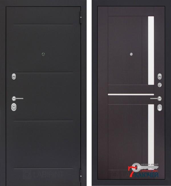 Дверь Лабиринт LOFT 02, венге